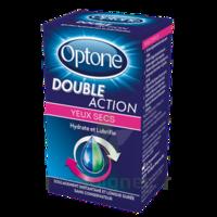 Optone Double Action Solution Oculaire Yeux Secs Fl/10ml à Saint-Pierre-des-Corps