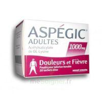 ASPEGIC ADULTES 1000 mg, poudre pour solution buvable en sachet-dose 20 à Saint-Pierre-des-Corps