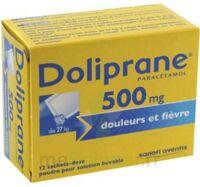 DOLIPRANE 500 mg Poudre pour solution buvable en sachet-dose B/12 à Saint-Pierre-des-Corps