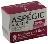 ASPEGIC ADULTES 1000 mg, poudre pour solution buvable en sachet-dose 15 à Saint-Pierre-des-Corps