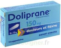 DOLIPRANE 150 mg Suppositoires 2Plq/5 (10) à Saint-Pierre-des-Corps