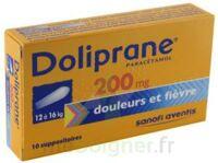DOLIPRANE 200 mg Suppositoires 2Plq/5 (10) à Saint-Pierre-des-Corps