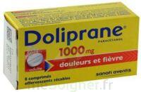 DOLIPRANE 1000 mg Comprimés effervescents sécables T/8 à Saint-Pierre-des-Corps