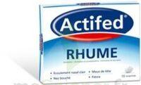 ACTIFED RHUME, comprimé à Saint-Pierre-des-Corps