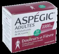 ASPEGIC ADULTES 1000 mg, poudre pour solution buvable en sachet-dose 30 à Saint-Pierre-des-Corps