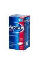 NICOTINELL FRUIT 2 mg SANS SUCRE, gomme à mâcher médicamenteuse P/96 à Saint-Pierre-des-Corps