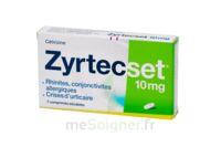 ZYRTECSET 10 mg, comprimé pelliculé sécable à Saint-Pierre-des-Corps