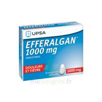 Efferalgan 1000 mg Comprimés pelliculés Plq/8 à Saint-Pierre-des-Corps