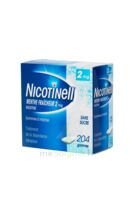 NICOTINELL MENTHE FRAICHEUR 2 mg SANS SUCRE, gomme à mâcher médicamenteuse Plq/204 à Saint-Pierre-des-Corps