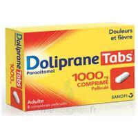 DOLIPRANETABS 1000 mg Comprimés pelliculés Plq/8 à Saint-Pierre-des-Corps
