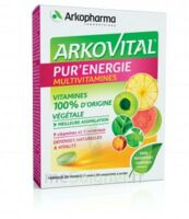 Arkovital Pur'Energie Multivitamines Comprimés dès 6 ans B/30 à Saint-Pierre-des-Corps