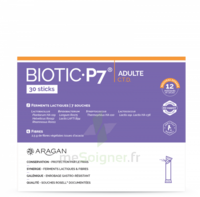 Aragan Biotic P7 Adulte Poudre 30 Sticks à Saint-Pierre-des-Corps