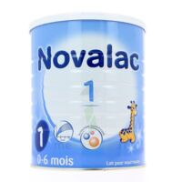 NOVALAC LAIT 1 , 0-6 mois BOITE 800G à Saint-Pierre-des-Corps