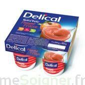 DELICAL NUTRA'POTE DESSERT AUX FRUITS, 200 g x 4 à Saint-Pierre-des-Corps