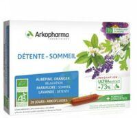 Arkofluide Bio Ultraextract Solution buvable détente sommeil 20 Ampoules/10ml à Saint-Pierre-des-Corps