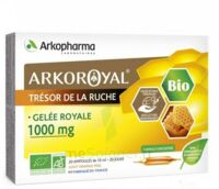Arkoroyal Gelée Royale Bio 1000 Mg Solution Buvable 20 Ampoules/10ml à Saint-Pierre-des-Corps