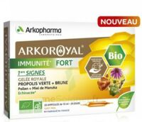 Arkoroyal Immunité Fort Solution Buvable 20 Ampoules/10ml à Saint-Pierre-des-Corps