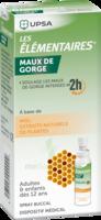 LES ELEMENTAIRES Solution buccale maux de gorge adulte 30ml à Saint-Pierre-des-Corps