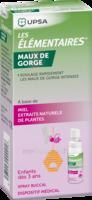LES ELEMENTAIRES Spray buccal maux de gorge enfant Fl/20ml à Saint-Pierre-des-Corps