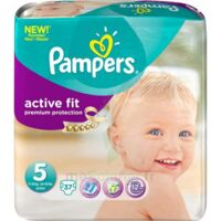 PAMPERS COUCHES ACTIVE FIT TAILLE 5 11-25 KG x 20 à Saint-Pierre-des-Corps