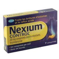 NEXIUM CONTROL 20 mg Cpr gastro-rés Plq/7 à Saint-Pierre-des-Corps