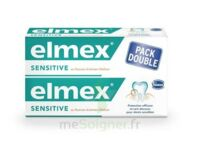 ELMEX SENSITIVE DENTIFRICE, tube 75 ml, pack 2 à Saint-Pierre-des-Corps