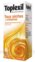 TOPLEXIL 0,33 mg/ml, sirop 150ml à Saint-Pierre-des-Corps