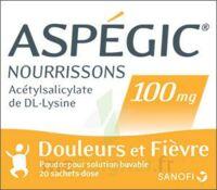 ASPEGIC NOURRISSONS 100 mg, poudre pour solution buvable en sachet-dose à Saint-Pierre-des-Corps