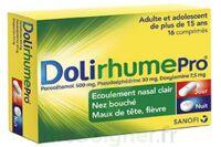 DOLIRHUMEPRO PARACETAMOL, PSEUDOEPHEDRINE ET DOXYLAMINE, comprimé à Saint-Pierre-des-Corps