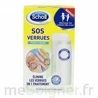 Scholl SOS Verrues traitement pieds et mains à Saint-Pierre-des-Corps