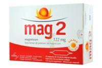 MAG 2 122 mg S buv en ampoule sans sucre édulcoré à la saccharine sodique 30Amp/10ml à Saint-Pierre-des-Corps