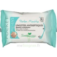PREVEN'S Lingette antiseptique menthe à Saint-Pierre-des-Corps