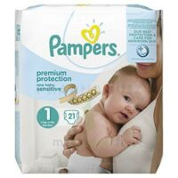 Pampers couches new baby sensitive taille 1 - 21 couches à Saint-Pierre-des-Corps