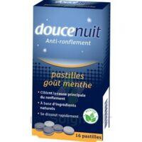 DOUCENUIT ANTIRONFLEMENT PASTILLES à la menthe, bt 16 à Saint-Pierre-des-Corps