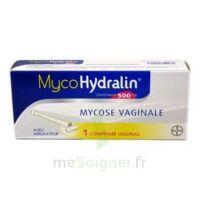 MYCOHYDRALIN 500 mg, comprimé vaginal à Saint-Pierre-des-Corps