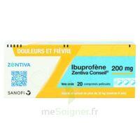 IBUPROFENE ZENTIVA CONSEIL 200 mg, comprimé pelliculé à Saint-Pierre-des-Corps