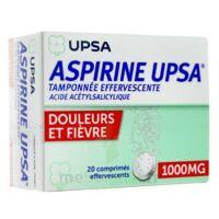 ASPIRINE UPSA TAMPONNEE EFFERVESCENTE 1000 mg, comprimé effervescent à Saint-Pierre-des-Corps