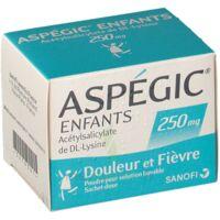 ASPEGIC ENFANTS 250, poudre pour solution buvable en sachet-dose à Saint-Pierre-des-Corps