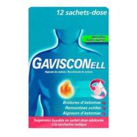 GAVISCONELL Suspension buvable sachet-dose menthe sans sucre 12Sach/10ml à Saint-Pierre-des-Corps