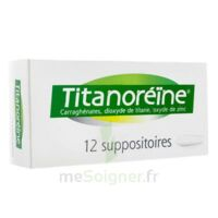 TITANOREINE Suppositoires B/12 à Saint-Pierre-des-Corps