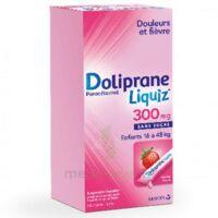 Dolipraneliquiz 300 mg Suspension buvable en sachet sans sucre édulcorée au maltitol liquide et au sorbitol B/12 à Saint-Pierre-des-Corps