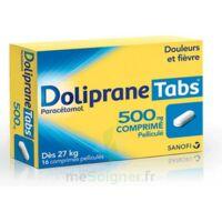 DOLIPRANETABS 500 mg Comprimés pelliculés Plq/16 à Saint-Pierre-des-Corps