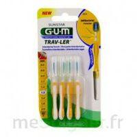 GUM TRAV - LER, 1,3 mm, manche jaune , blister 4 à Saint-Pierre-des-Corps