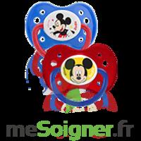 Dodie Disney Sucette anatomique silicone +6mois Mickey Lot/2 à Saint-Pierre-des-Corps