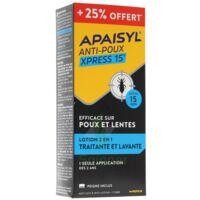 Apaisyl anti-poux Xpress 15' +25% offert à Saint-Pierre-des-Corps