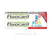 Fluocaril Kids Gel dentifrice Fraise 0/6ans 2*50ml à Saint-Pierre-des-Corps