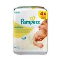 Pampers New Baby Sensitive Lingette 4 Paquets/50 à Saint-Pierre-des-Corps