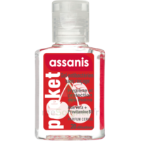 Assanis Pocket Parfumés Gel antibactérien mains cerise 20ml à Saint-Pierre-des-Corps