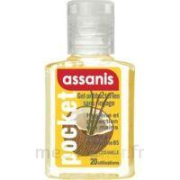 Assanis Pocket Parfumés Gel antibactérien mains Coco Vanille 20ml à Saint-Pierre-des-Corps