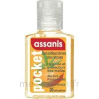 Assanis Pocket Parfumés Gel antibactérien mains Mangue 20ml à Saint-Pierre-des-Corps